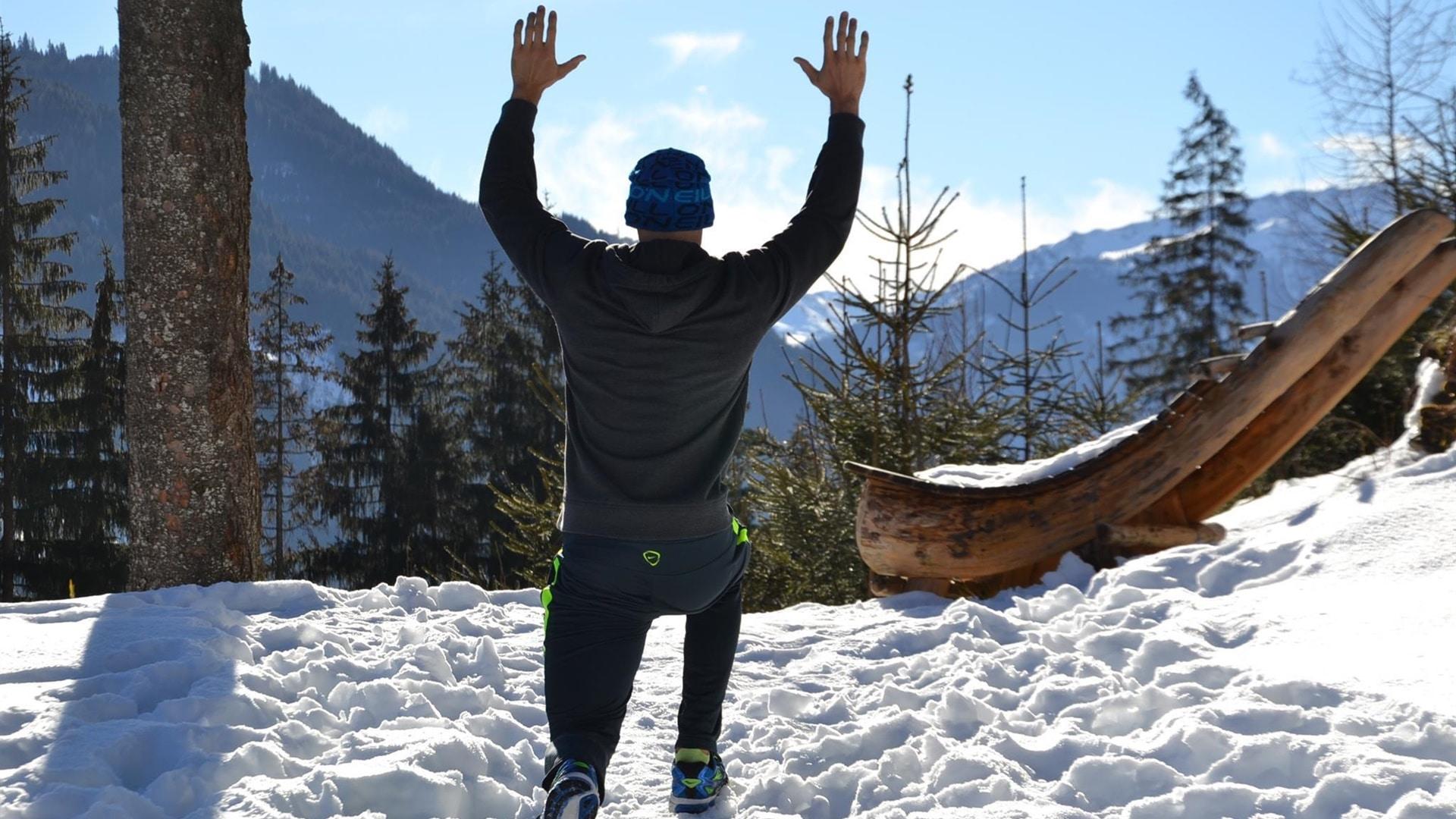 Fitness Winterwanderung